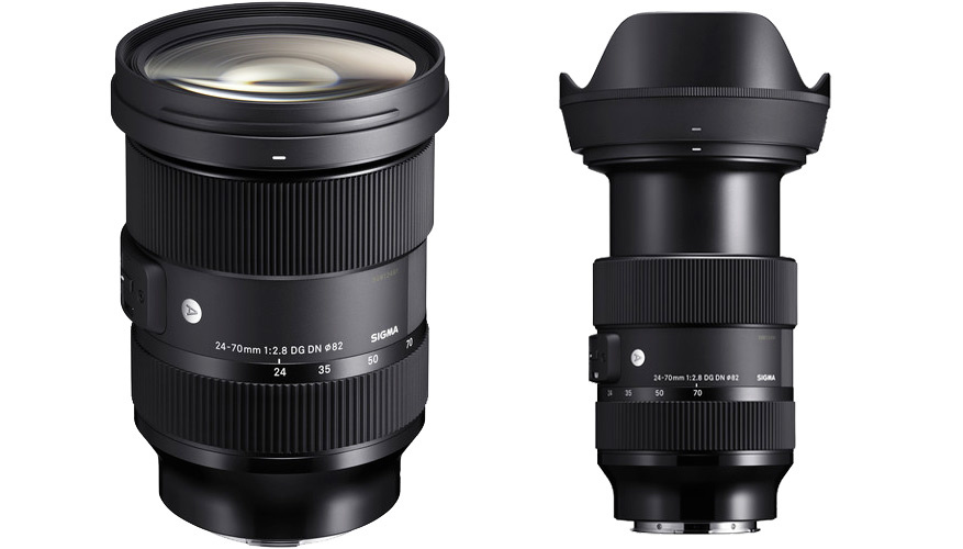 The newly announced Sigma 24-70mm f/2.8 Art for Sony
