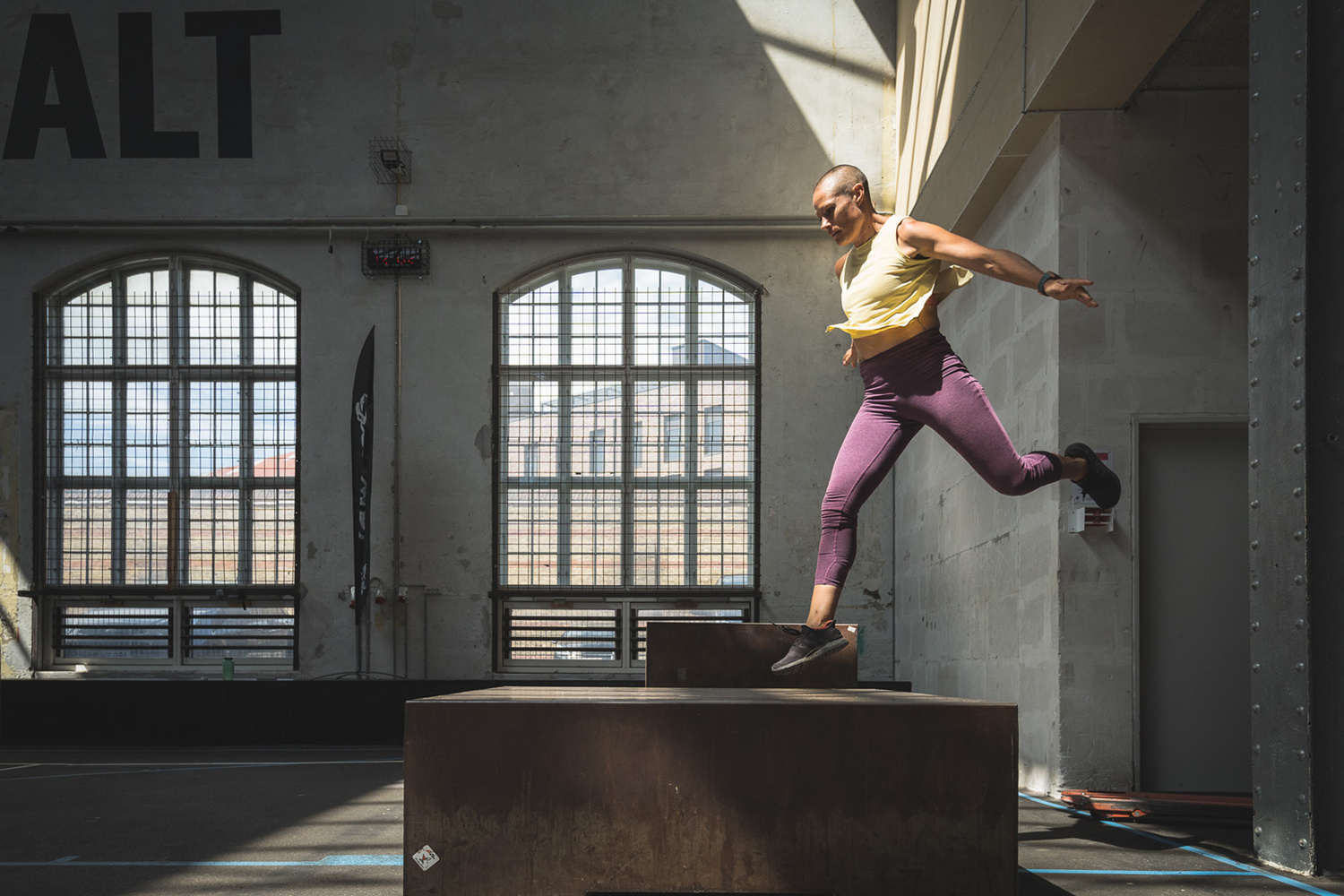 Parkour photography by Andy Day