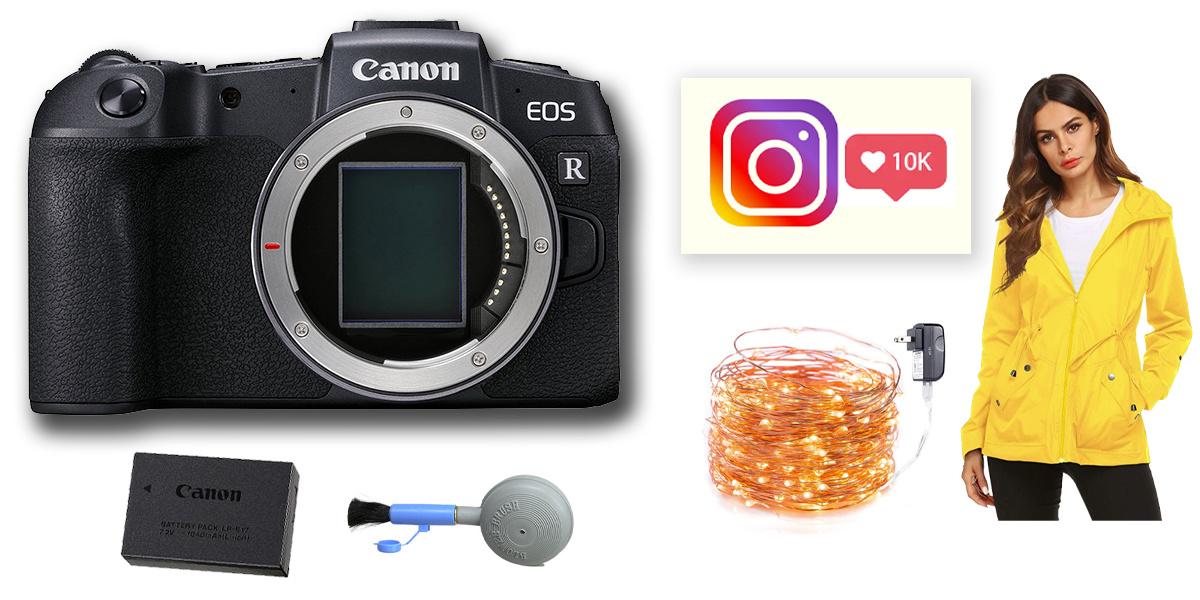 Canon EOS RiP Instagram bundle