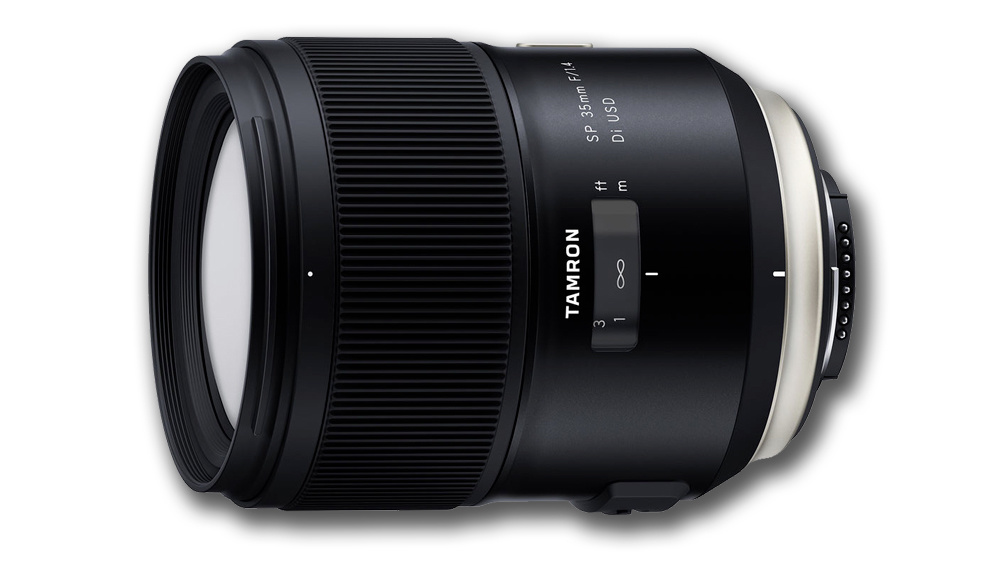 Tamron SP 35mm f/1.4 for Canon and Nikon DSLRs