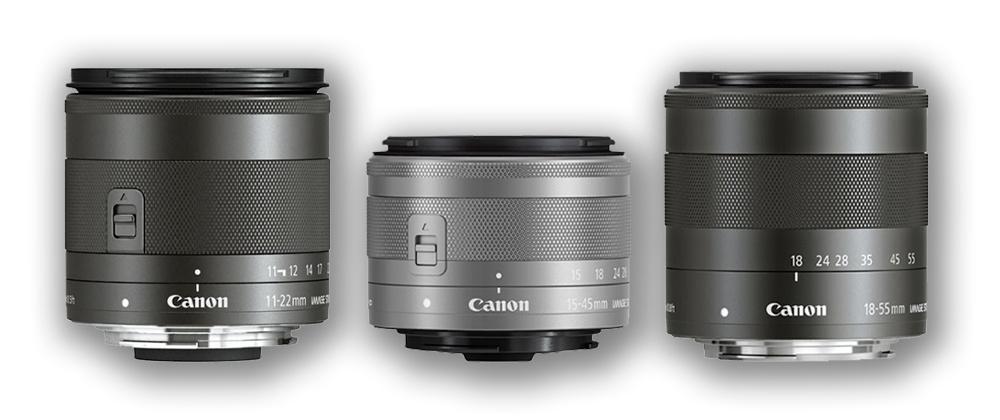 Canon EOS M Lenses