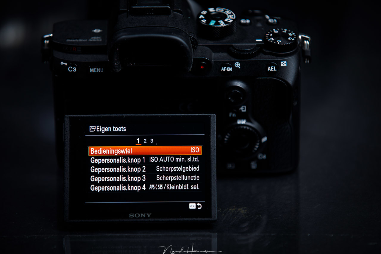 The customizing menu of the Sony A7R III makes it possible to assign a lot of options to buttons. This way you can make the camera very personal. But it might also prevent you from getting to know the camera.