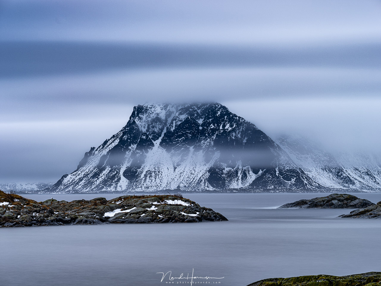 Shooting long exposures can be fun, and can provide a new dimension to your photos. For this you need to use filters and a filter system is a good choice. For Winter at Lofoten I was asked to use the new Haida M10 system with the new Red Diamond filters.