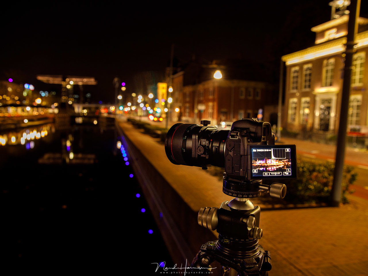 A tilt-shift lens, perfect for architecture and real estate.