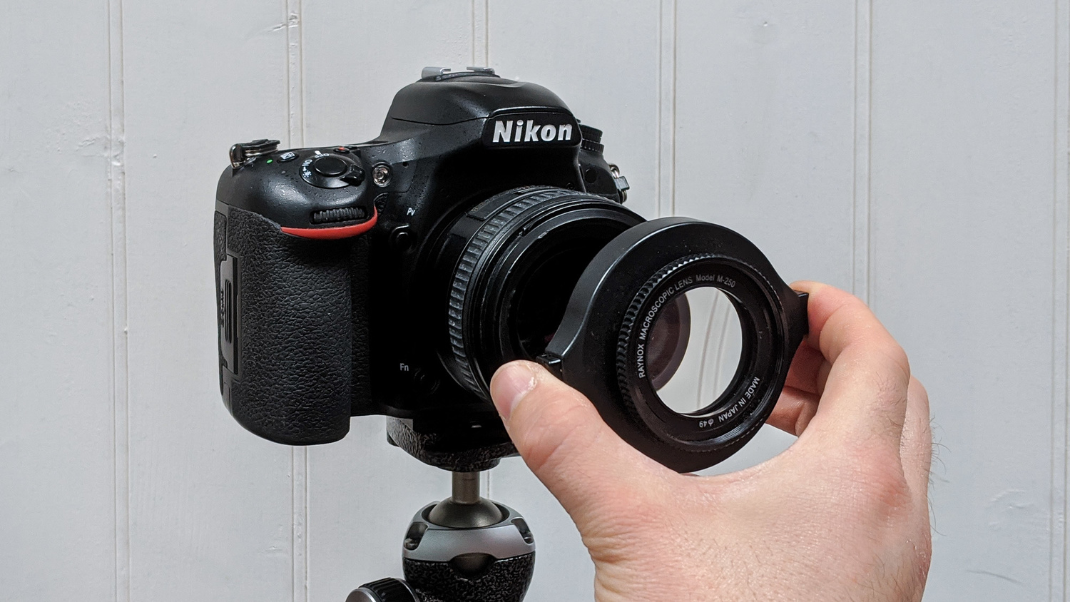 A filter for close-up photography