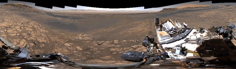 Curiosity rover's 1.8 billion pixel image of mars