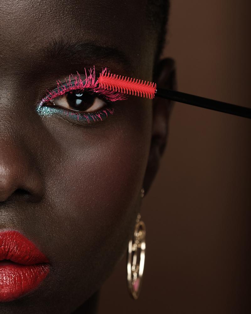 Beauty, Dark Skin, Closeup, Makeup