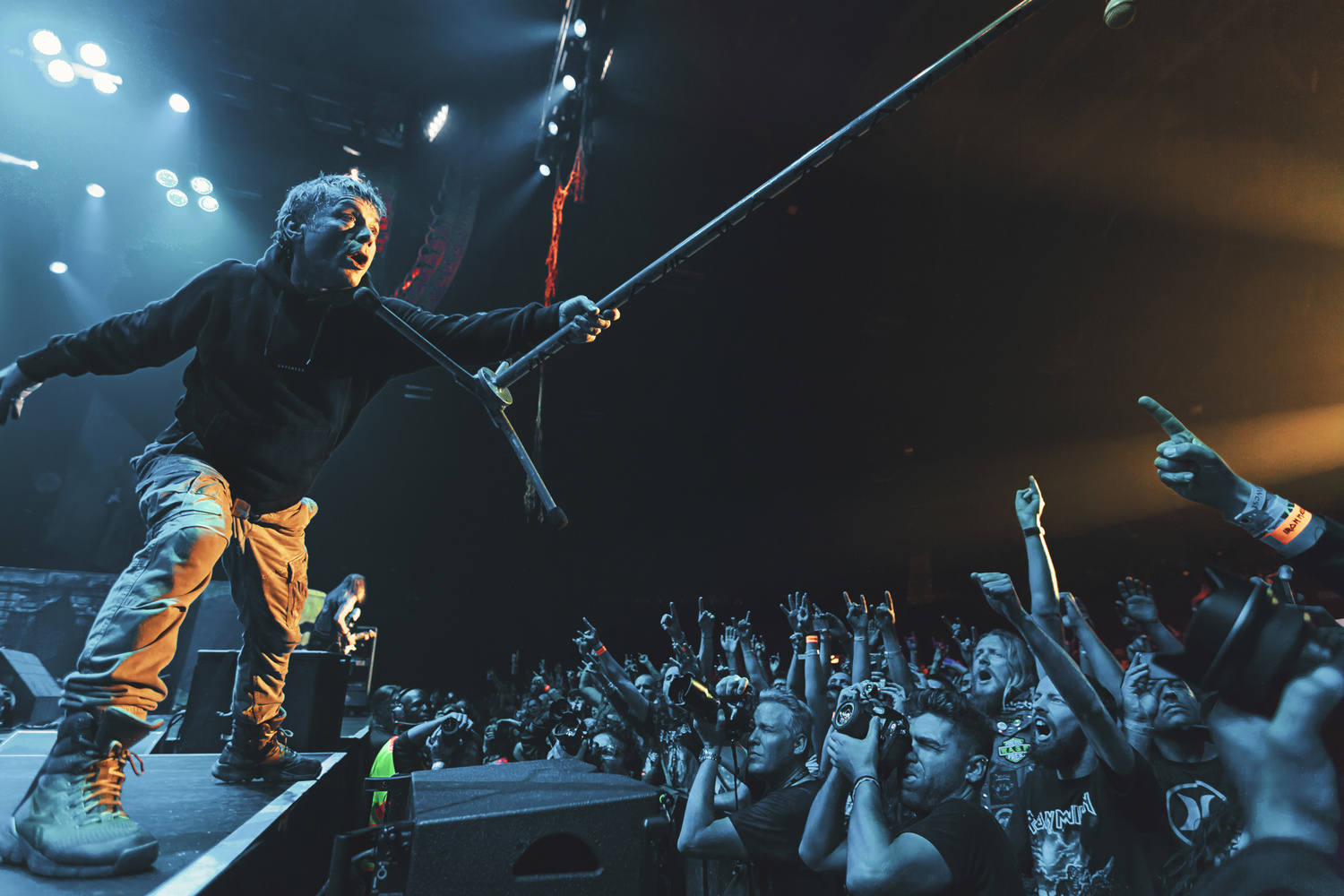 Iron Maiden captured by The Image Engineer, Live in Cape Town