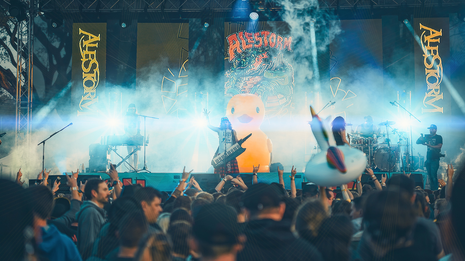 Alestorm captured by The Image Engineer, Live in Johannesburg