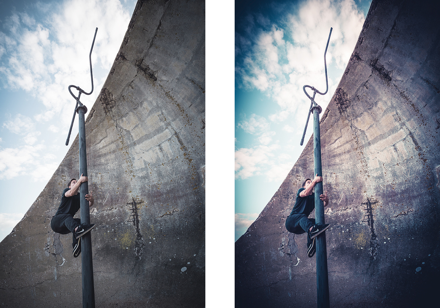 When a Lightroom preset is too heavy-handed