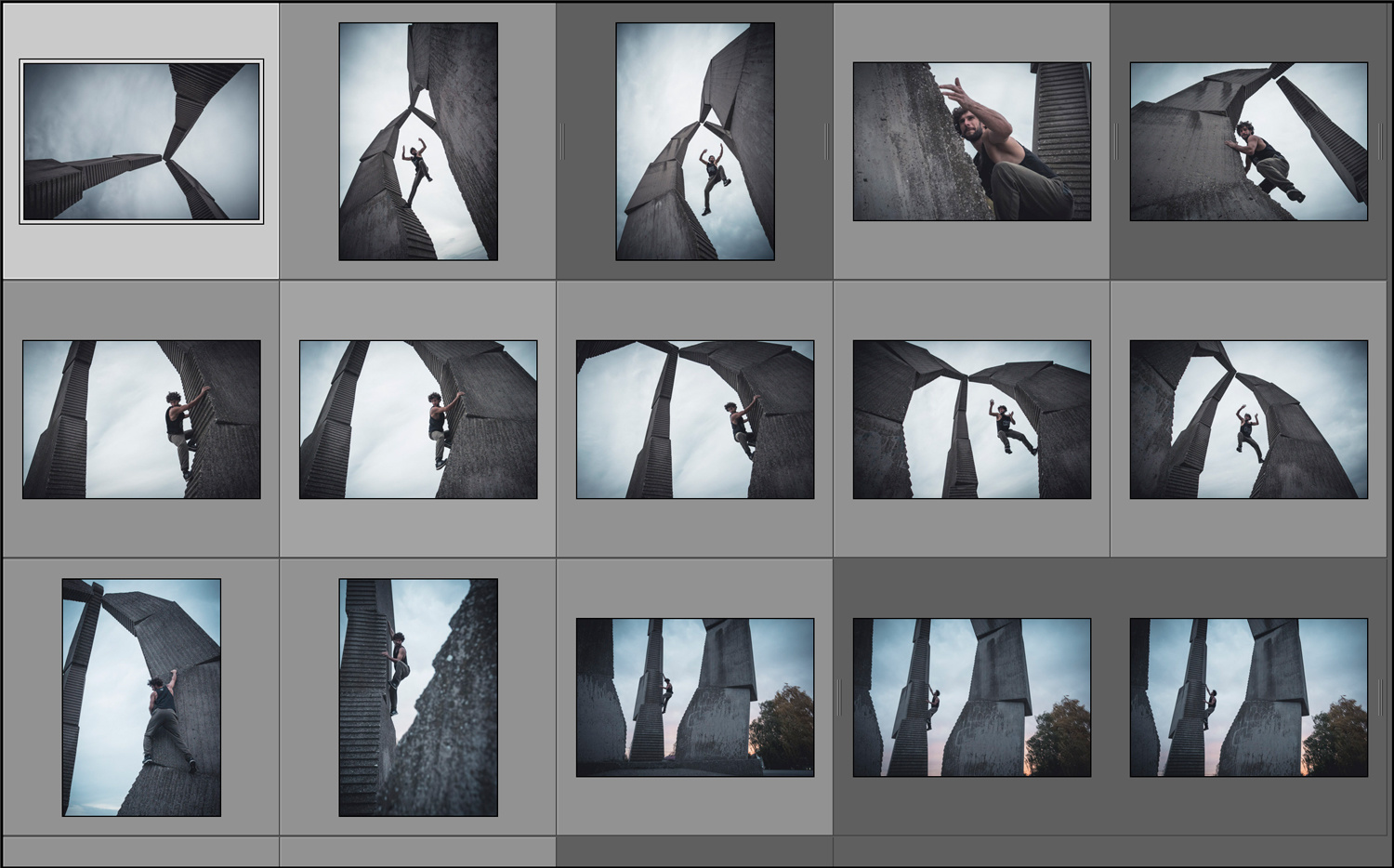 Lightroom - one project, one preset