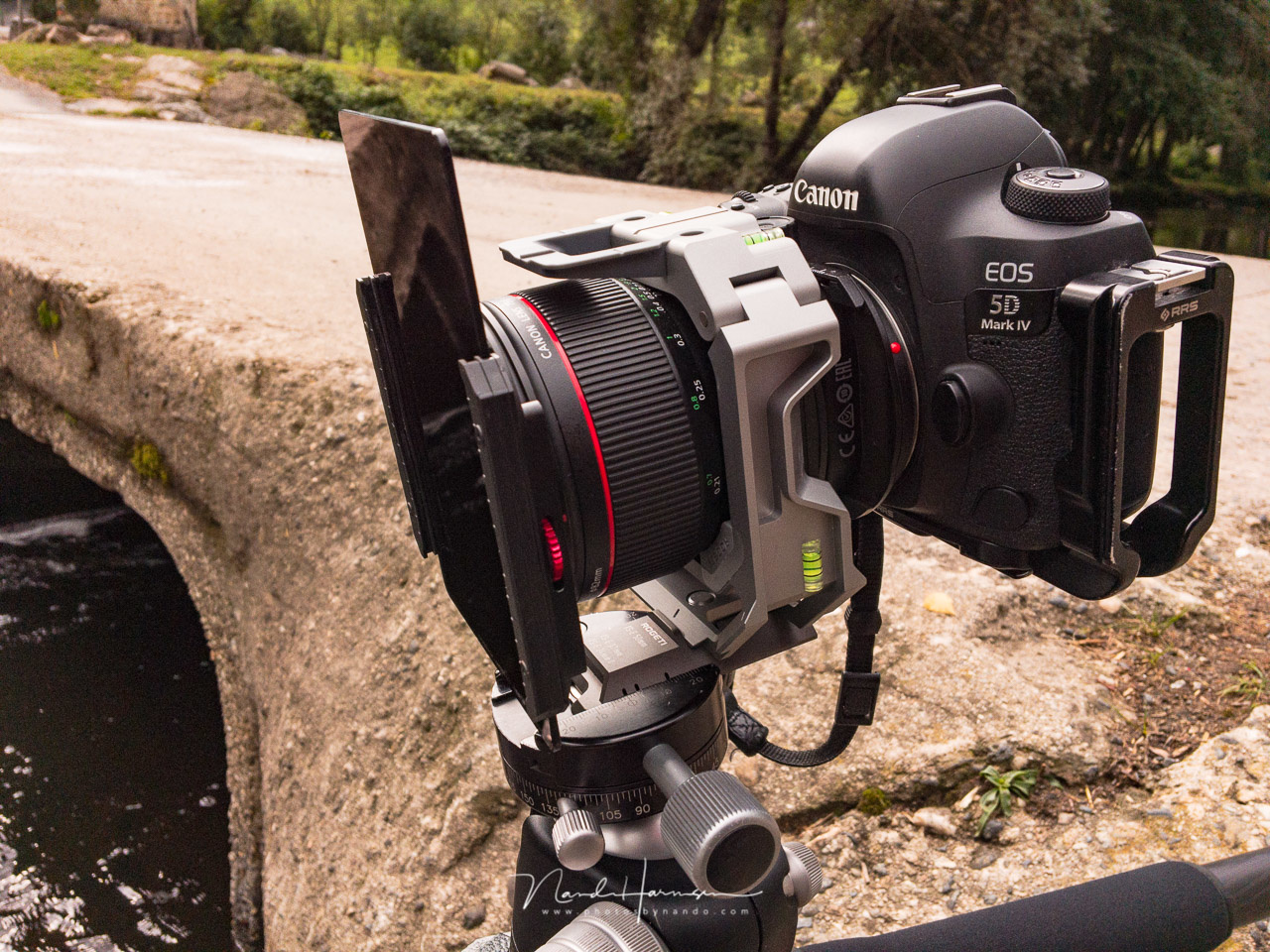 Shooting panoramas with the tilt-shift lens and the Rogeti TSE frame is fun. Although you have to level the camera, you can easy tilt the camera up or down without any problem, Just make sure it is kept horizontal.