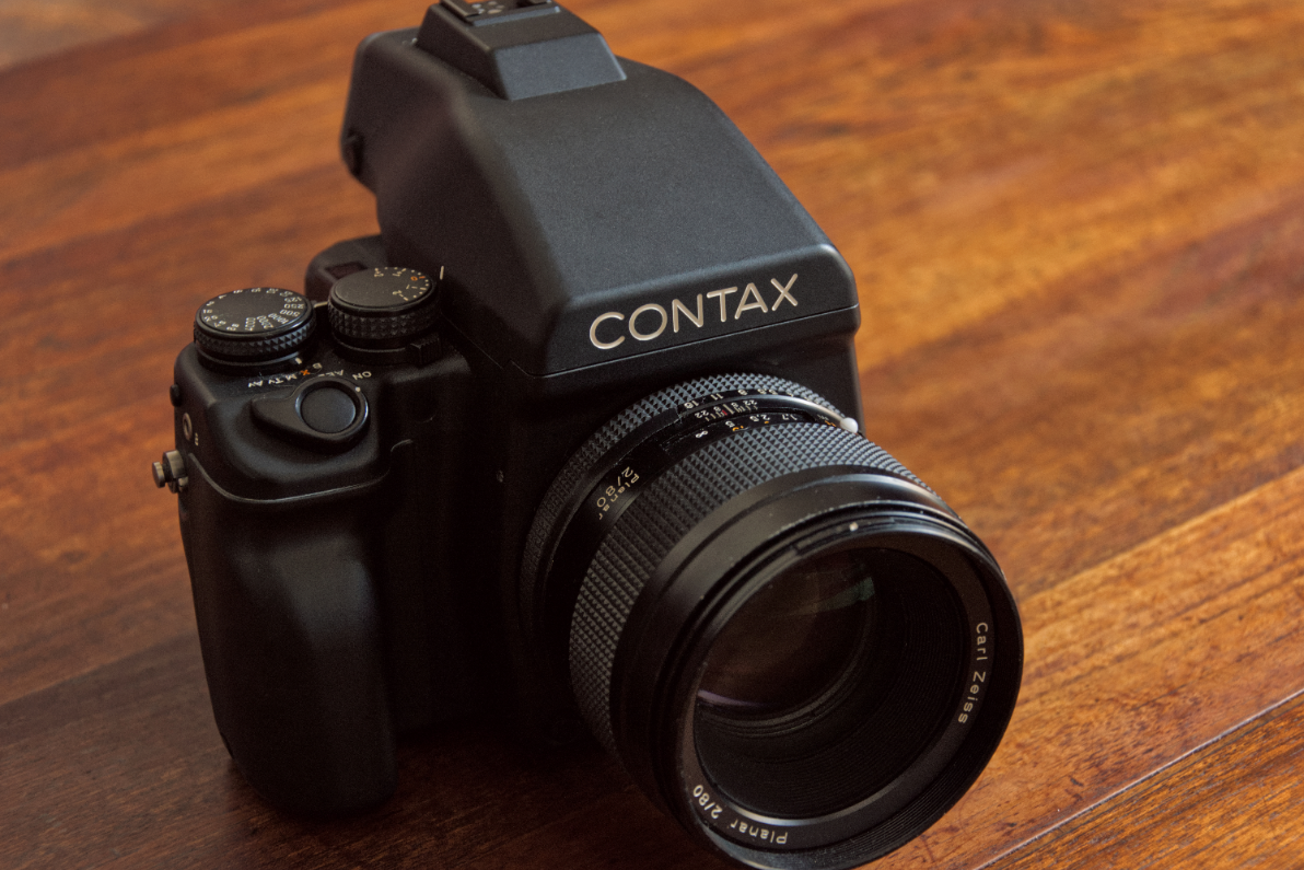 The Contax 645 AF Camera