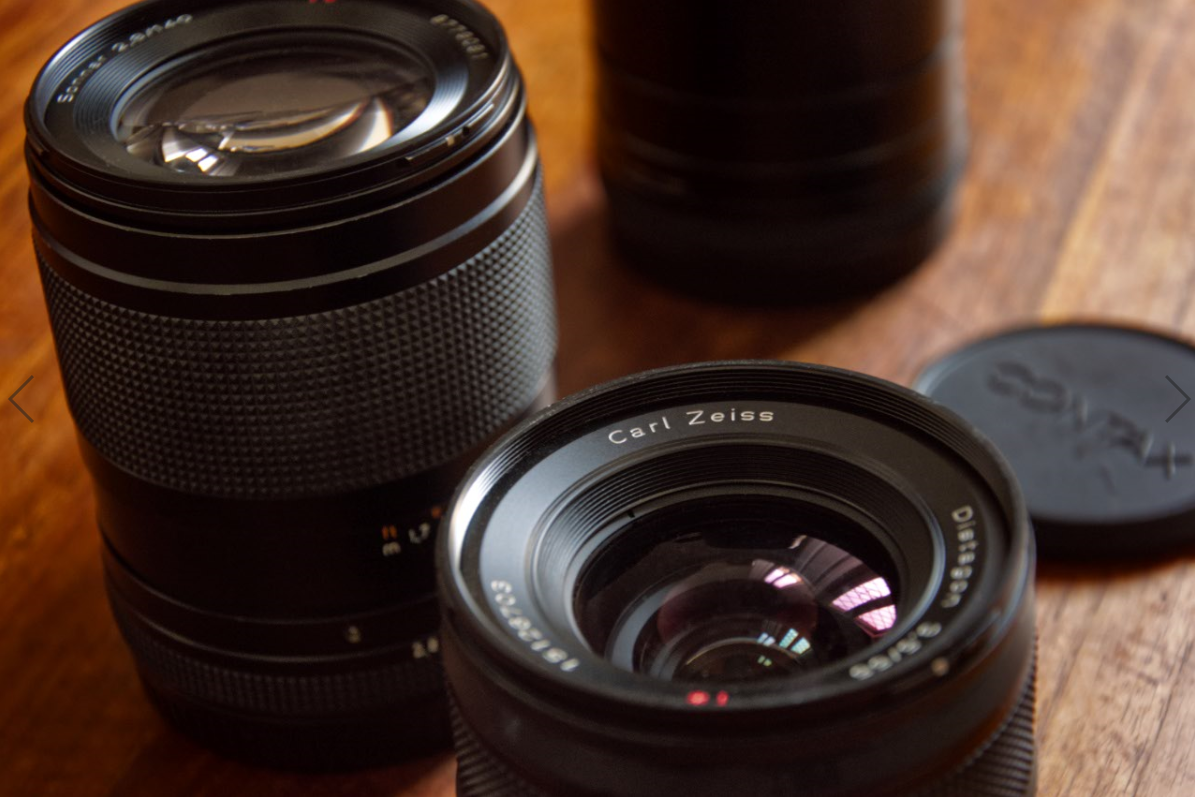 Carl Zeiss Lenses for the Contax 645