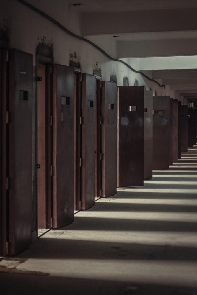 Open cells in a Brazilian prison.