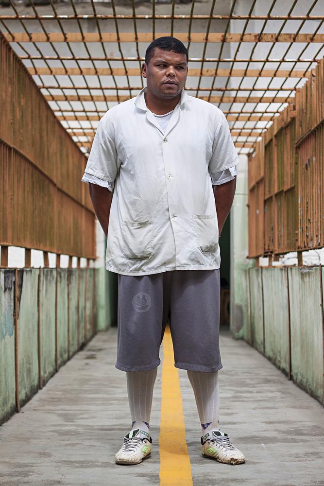 A male prisoner.