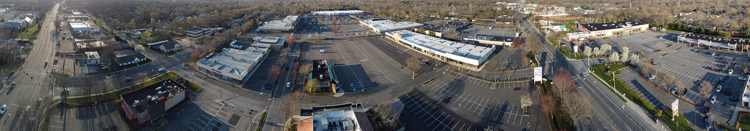 The only image I produced from my short-lived time with the DJI Mavic Mini. This is a panorama stitched from 14 photos in mid-air.