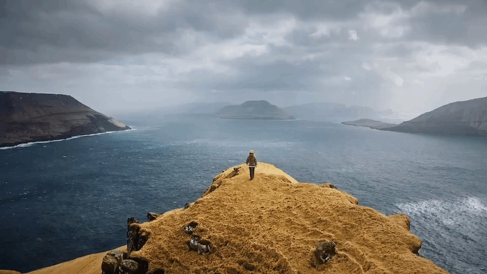 Visit Faroe Islands landscape virtually