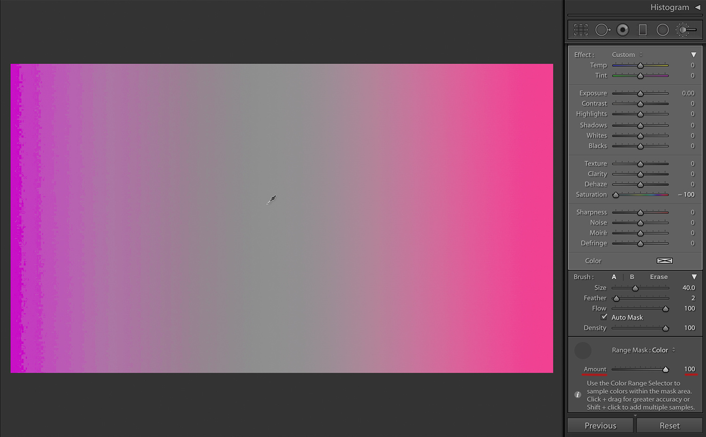 Pink, Amount at 100%