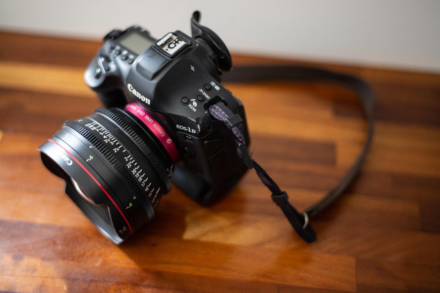 Canon CN-E14mm T3.1 L F cine lens