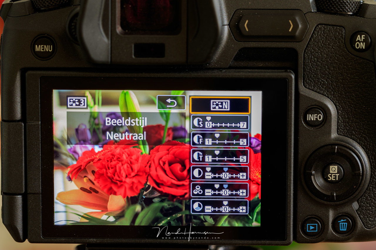 For photography you can make a flat picture profile, based on a build-in neutral one. Just reduce contrast a lot, and saturation a bit. This way you will be able to make a better exposure to the right based on the histogram.