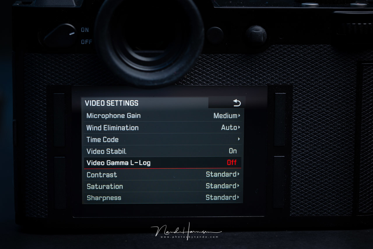 Many cameras have a LOG setting for video. It will incorporate a flat picture style among some other settings. Wouldn't it be great if you could have something similar for photos? This is the menu of the Leica SL