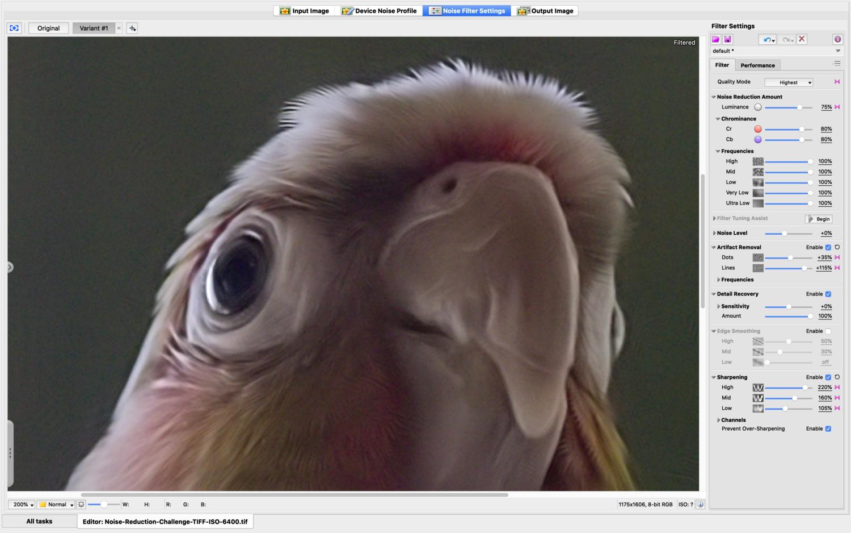 Neat Image Interface