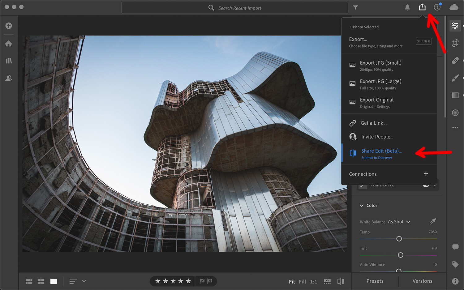 Adobe Lightroom Discover