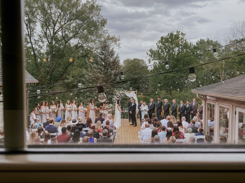 Usando un iPhone para fotografía una boda