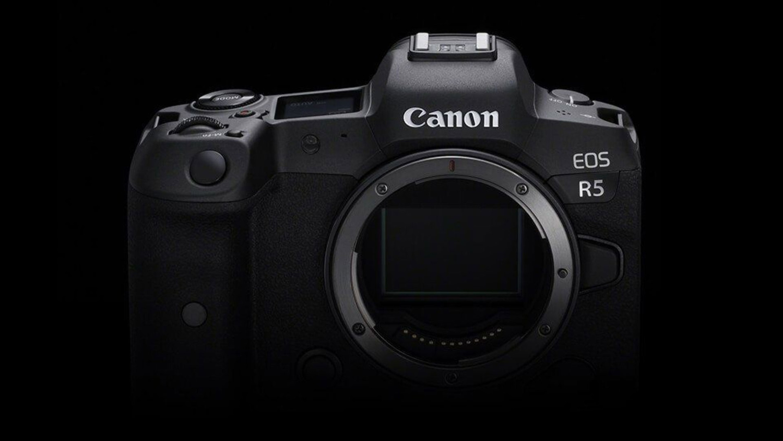 Canon EOS R5 connectivity photo
