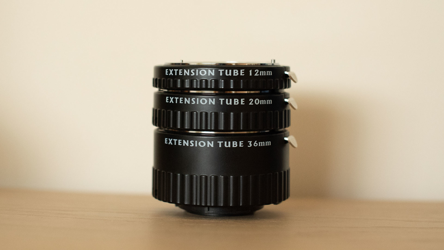 Opteka extension tubes image