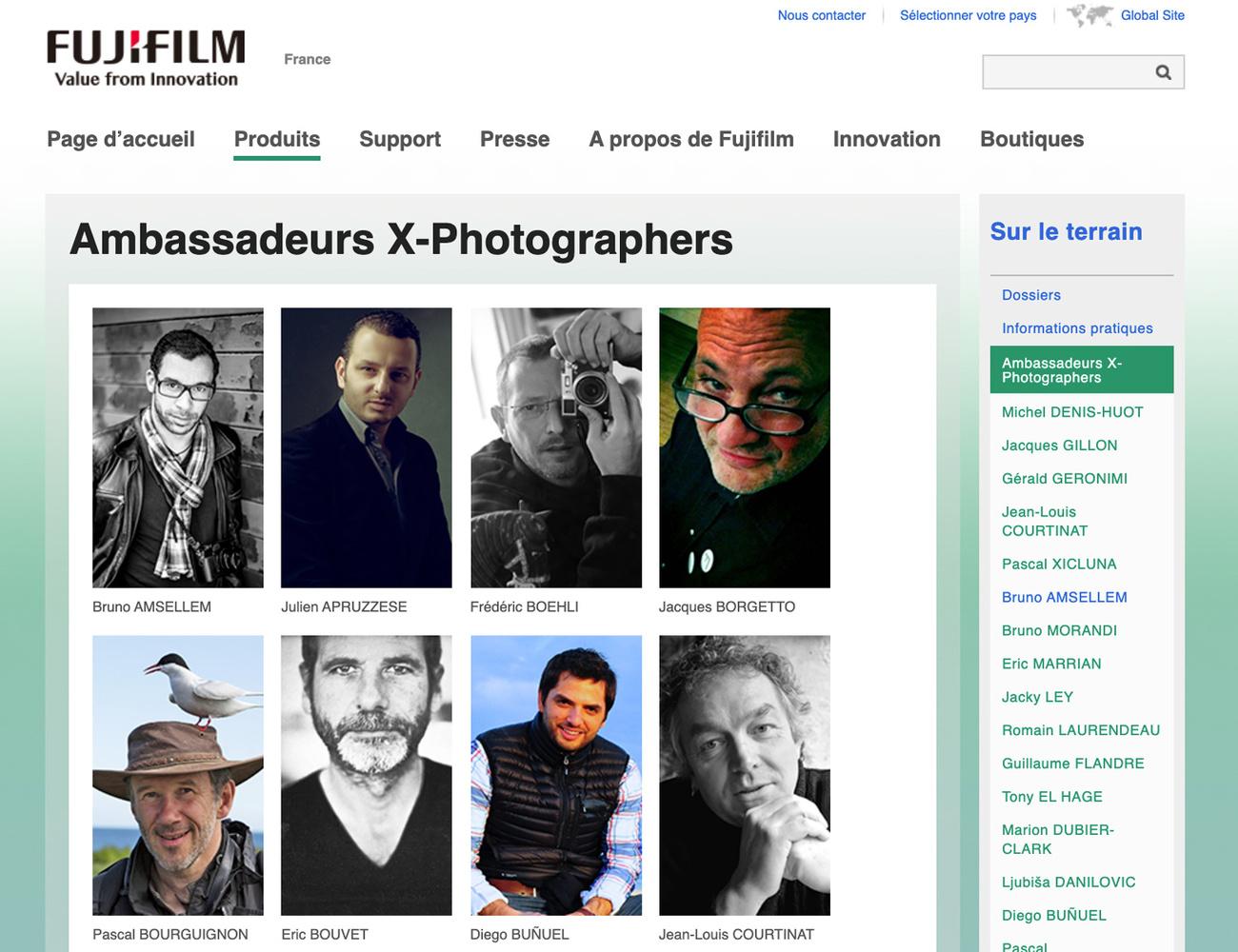 Fujifilm France, Sur Le Terrain
