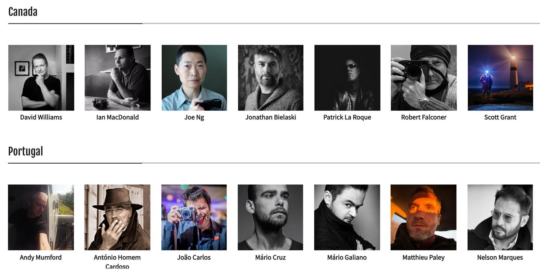 Fujifilm X-Photographers, Canada and Portugal