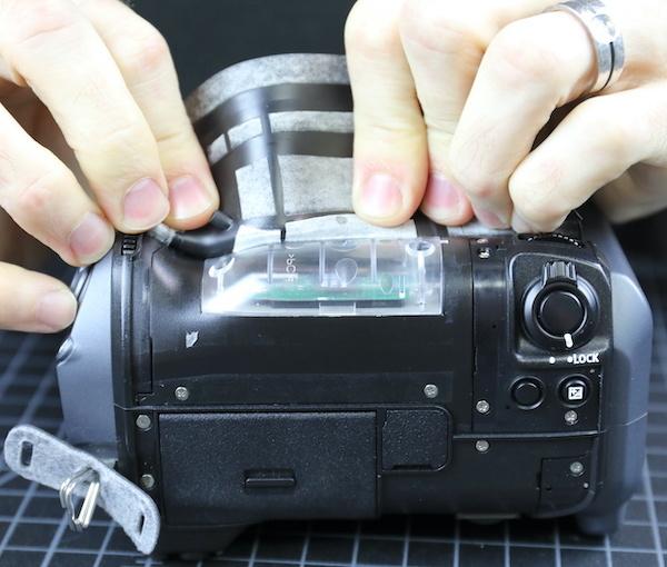 Taking Apart a $10,000 Mirrorless Fuji Camera Damaged by Saltwater 3