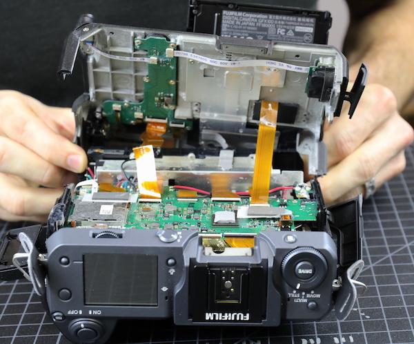 Taking Apart a $10,000 Mirrorless Fuji Camera Damaged by Saltwater 4