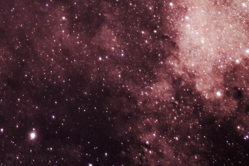 dust pillars in the Cygnus region