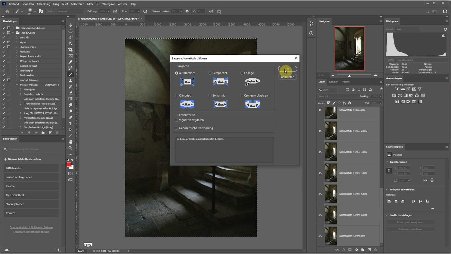 Select all layers and auto-align all layers. Let Photoshop do the work for you.