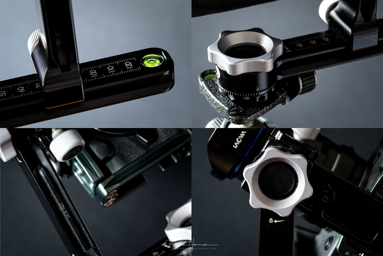 A few details of the RRS PG-01 Compact Pano-Gimbal Head