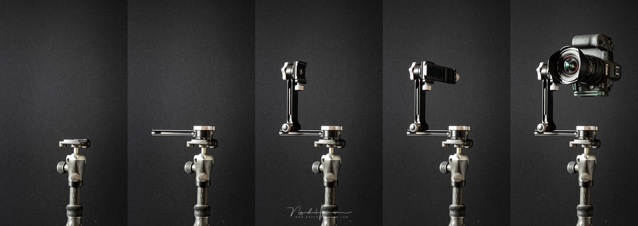 How to set up the RRS PG-01 Compact Pano-Gimbal Head in five steps