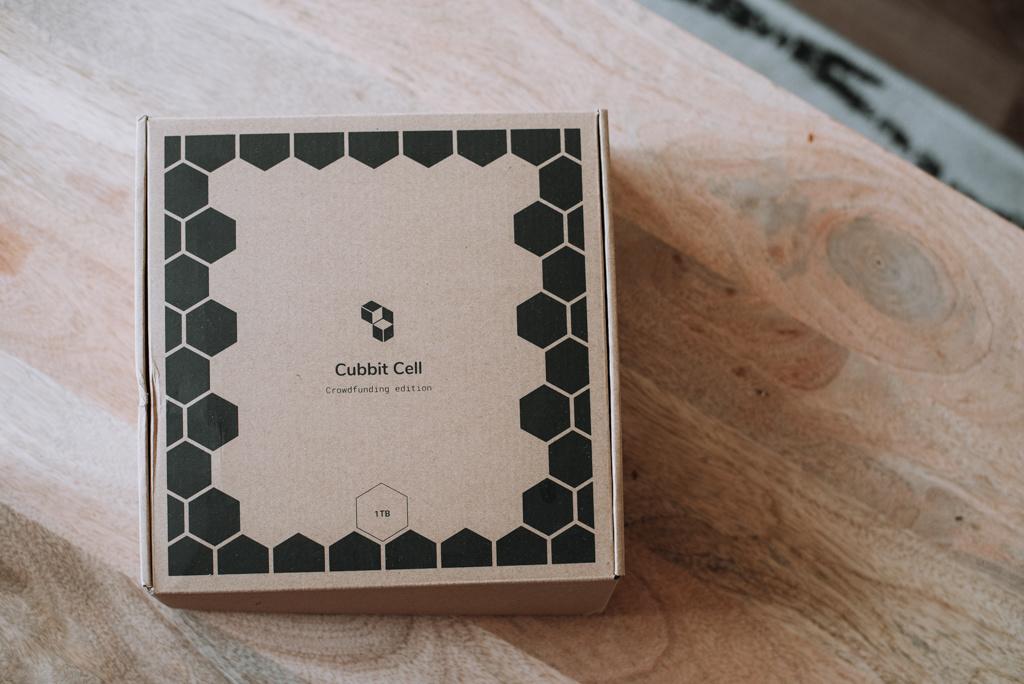 Cubbit cell storage box