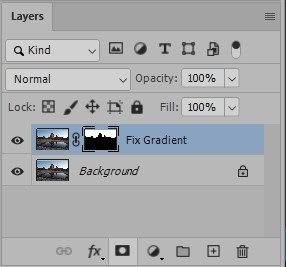 How to Easily Fix Blue Sky Gradients in Photoshop 9