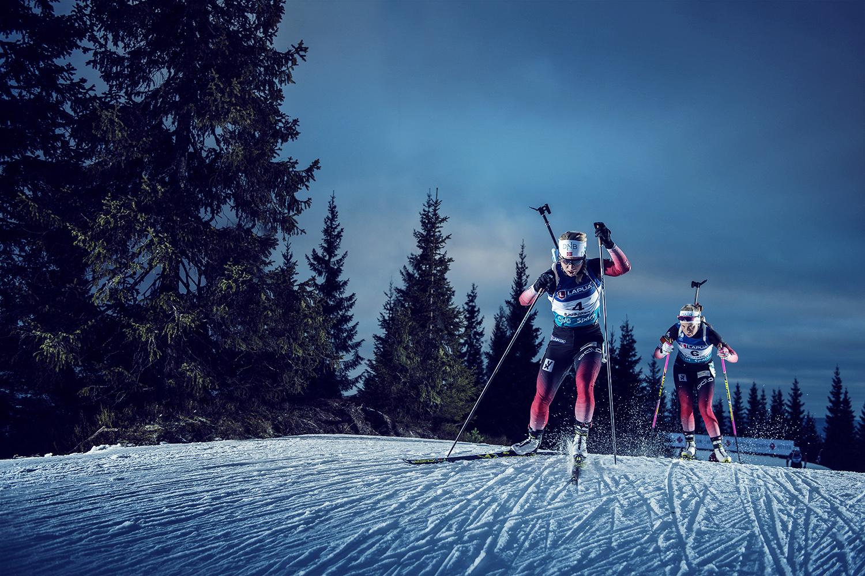 Biathlon by Vegard Breie
