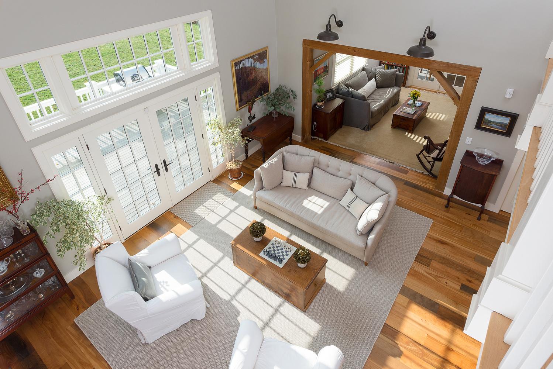 Aerial Living Room by Ryan Bent