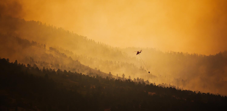 Waldo Canyon Fire by Ken Flanagan
