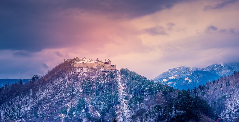 Rasnov Fortress by D O Pandurasu