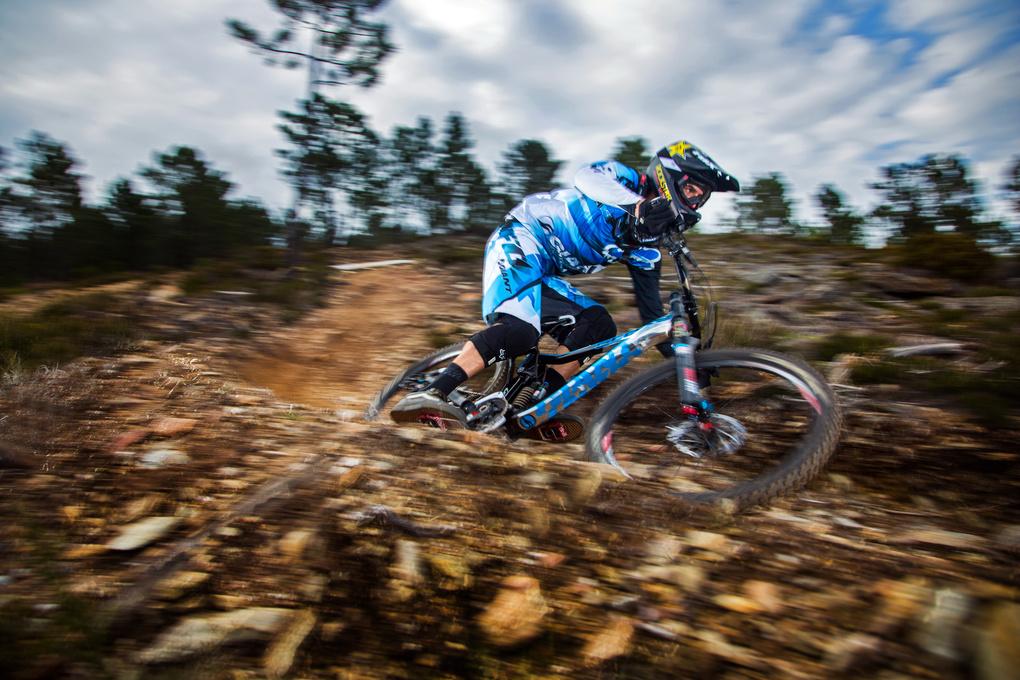 Mountain Biker  by Jacob Gibbins