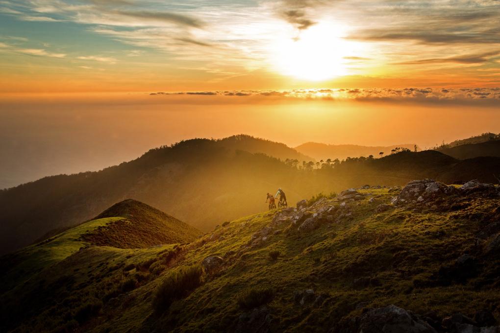Madeira Sunset  by Jacob Gibbins