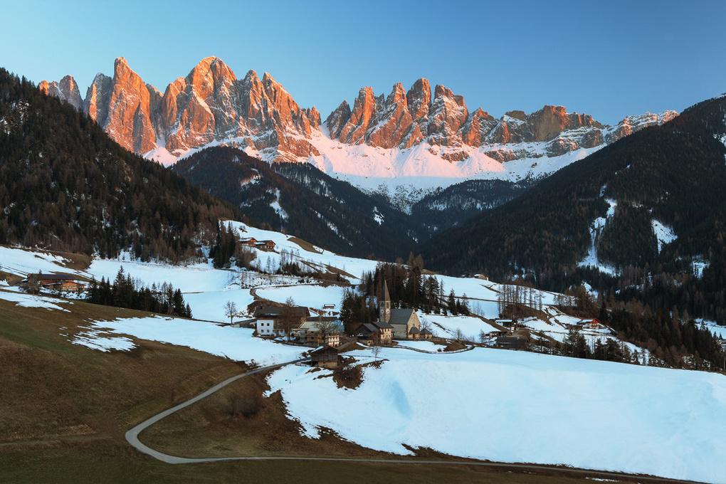 Val di Funes by Felix Hofbauer