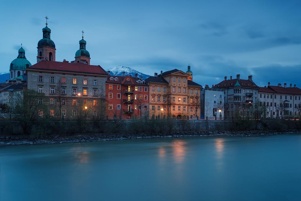 Innsbruck's Old Town by Felix Hofbauer
