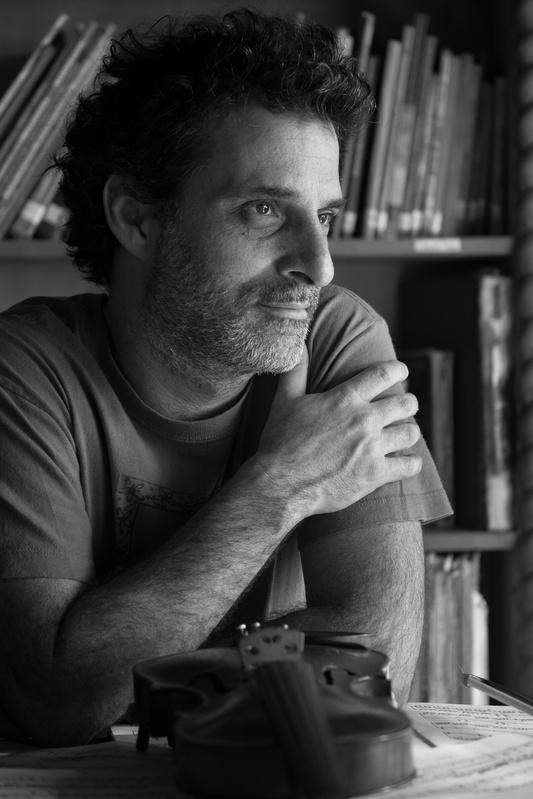 Portrait of Pablo by Matias Chahbenderian